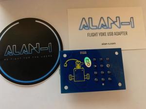 Atari star wars flight yoke controller usb adapter