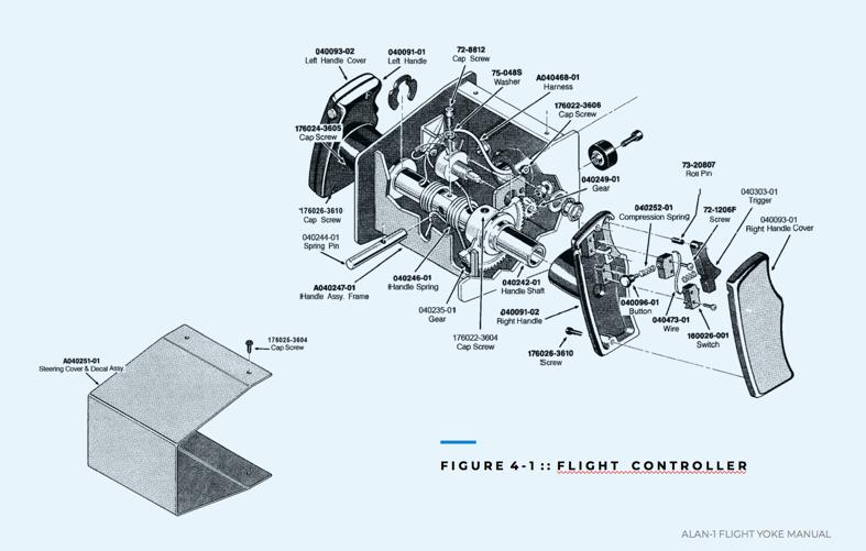 Atari Star Wars Flight Yoke main schematic